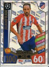 "Juanfran (Athletico Madrid) Champions League 2017/18 Sonderkarte ""100 Club XL"""