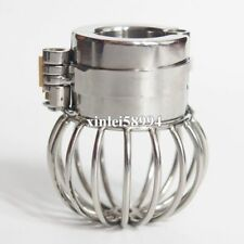 NEW Lock Design Stainless Steel Ball Stretchers Weight Chastity Ring  Locking