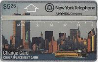 TK 272b Telefonkarte Nynex New York Skyline By Day World Trade Twin Towers