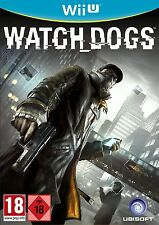 Nintendo Wii U Game Watchdogs Watch Dogs for the NEW WiiU New