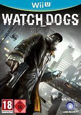 Nintendo Wii Et Jeu Chiens de garde Watch Dogs pour la nouveau WiiU PRODUIT NEUF