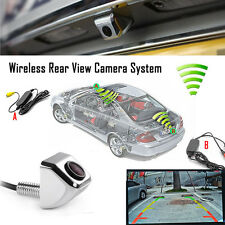 2.4G Wireless Car Rear View CCD 170°Forward Camera Reverse Backup Parking Silver