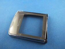 Original Nokia 8800 Sirocco a cover front cover negro con lámina protectora de pantalla