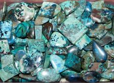 500Cts Top Azurite Cabochon Natural Gemstone Wholesale Lot- 10