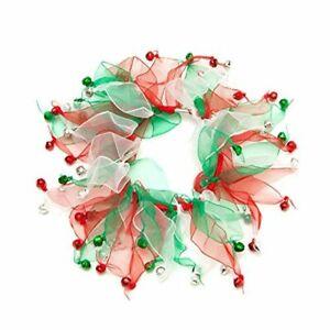 NEW! Midlee Christmas Jingle Bells Decorative Dog Collar