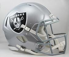 OAKLAND RAIDERS NFL Riddell SPEED Full Size AUTHENTIC Football Helmet