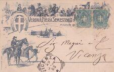 VERONA - Fiera di Cavalli 1899 Müller & Trüb Aarau