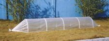 Garden Cloche 4 Metre Long Strong Plastic Cover and Rods