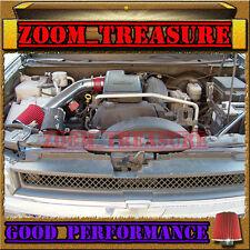 RED 2002-2003/02-03 CHEVY TRAILBLAZER/GMC ENVOY/BRAVADA 4.2L I6 AIR INTAKE 1