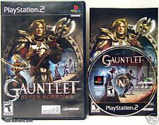 Gauntlet: Seven Sorrows (PlayStation 2) NICE & COMPLETE