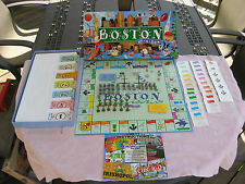 BOSTON IN-A-BOX~Property Trading Game~Late For The Sky~Complete!