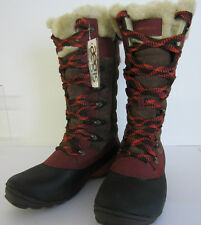 Ladies Merrell Knee High Boot in Mahogany Style - WINTERBELLE J68112 UK 4