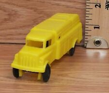 Vintage Genuine Wannatoy Plastic Yellow Truck Toy Car Only -U.S.A.- **READ**