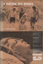 L'Avant-Scène Cinéma N° 118 Octobre 1971 - La Maison des Bories Doniol-Valcroze
