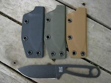 Valhalla Custom Kydex Sheath Ka-Bar Kabar Becker BK 14 OD GREEN SHEATH ONLY