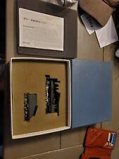 United Models HO Scale BRASS Black Omaha 0-6-0 Steam Locomotive & Tender/Box