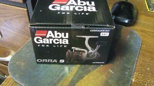"""Abu Garcia spinning reel, """"orra s"""", nib, 5.8/1, 7 bearings, free shipping"""