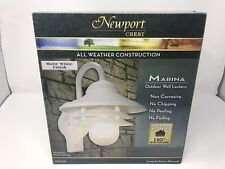 Newport Crest - Marina Outdoor Wall Lantern W/ Motion Activated Detection Zone