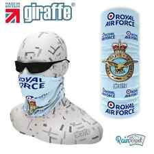 RAF Blue-392 Multifunctional Headwear Neckwarmer Snood Bandana Headband Tube