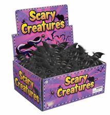 "Bat Bats Black 9"" Rubber Halloween Prop Decoration Decor Scary New"