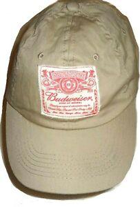 Hat Budweiser King of Beers Hat Back strap Baseball Cap