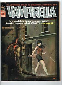 Vampirella Magazine #6 VG/F 5.0 Ken Kelly Cover