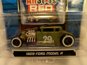 Maisto All Stars Red Exclusive 100 1929 '29 Ford Model A Car GREEN Die Cast 1/64