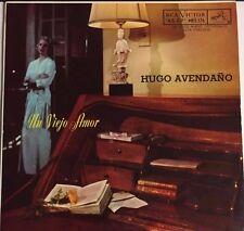 """HUGO AVENDAÑO -UN VIEJO AMOR / RAYANDO EL SOL- MEXICAN 7"""" EP PS BOLERO"""