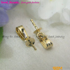 Yellow Gold Filled Pendent Connector Jewelry Making Necklace Finding fgf0043
