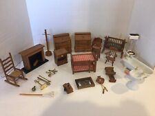 Vintage Miniatures - Dollhouse Furniture - SETS & ACCESSORIES -  Big Lot , Nice