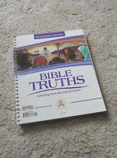 BJU Bob Jones Bible Truths A Teacher Edition VGUC