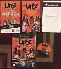 URBZ SIMS IN THE CITY COMPLETE (Nintendo GameCube, 2004) SPECIAL EDITION TESTED