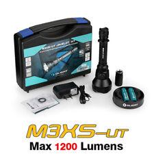 Olight M3XS-UT KIT Cree XP-L LED 1200 Lumens Flashlight Torch+ Battery+ Charger