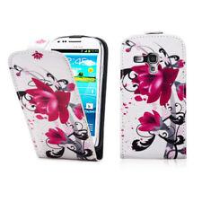 Fundas y carcasas color principal morado piel sintética para teléfonos móviles y PDAs Samsung