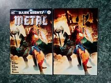 DARK NIGHTS METAL #1 JETPACK/FORBIDDEN PLANET TRADE & VIRGIN SET! (DC COMICS) NM