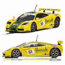 SCALEXTRIC Slot Car C4026 McLaren F1 GTR - LeMans 1995 - Harrods