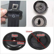 100 Pcs Universal Car Auto Clip Seat Belt Stopper Buckle Button Fastener Plastic