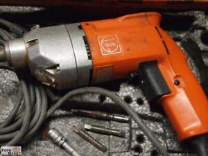 Elektroschrauber FEIN ASse 636, 220 V, 230 W + 4 x Fein-Einsätze
