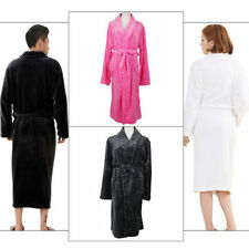 Flannel Patternless Robes for Women