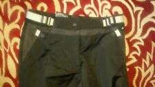 BMW motorcycle pants Street black grey women's US 10 EUR 40