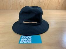 SUPREME LEATHER LACE CRUSHER BUCKET HAT BLACK TAN M L RED BOX LOGO BOGO NYC