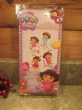 NEW (52) Dora The Explorer Wall Decoration Room Appliques W/Sparkly Glitter