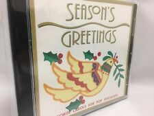 Season's Greetings CD Favorite Carols for Pop Vocalists (1996) LIKE NEW