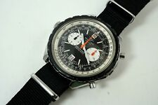 BREITLING 1806 NAVITIMER CHRONOMATIC ORIGINAL AUTOMATIC STAINLESS STEEL C. 1969