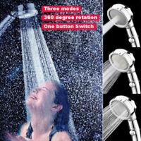 Duschkopf Ionic Hand Hochdruck Handbrausekopf für Wassersparende Filtration GFN