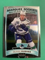 2019-20 OPC Platinum Marquee Rookie #190 Quinn Hughes Vancouver Canucks RC