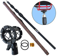Tamburi mpb03 boom pole 3m canna telescopica Angel + pcmh 1 RAGNO