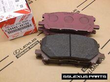 Lexus RX330 RX350 (2004-2009) OEM Genuine FRONT BRAKE PADS / PAD SET 04465-48100