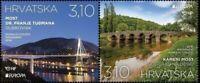 CROATIA / 2018, EUROPA CEPT (Bridges), MNH