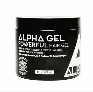 Alpha Gel Powerful Hair Gel, Water Based,No Flaking No Alcohol, Ferrari Fragrnce